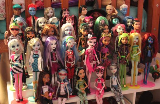 collection monster high