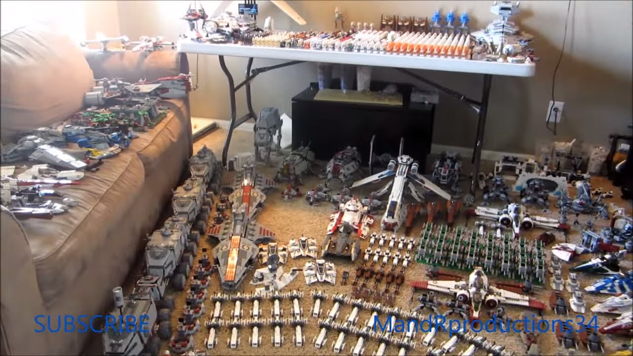 collection star wars lego