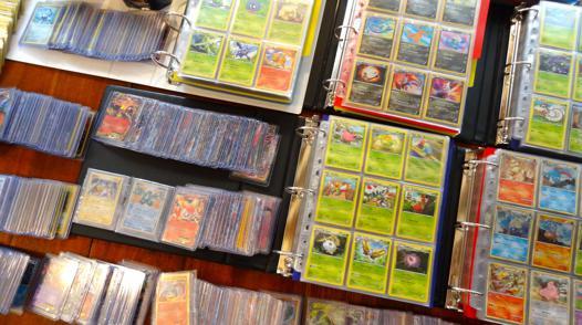 collectionneur carte pokemon