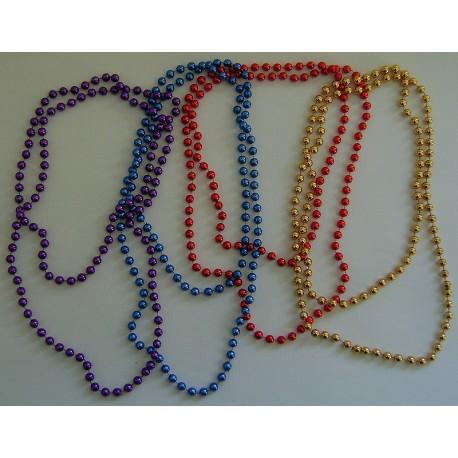 collier perle plastique