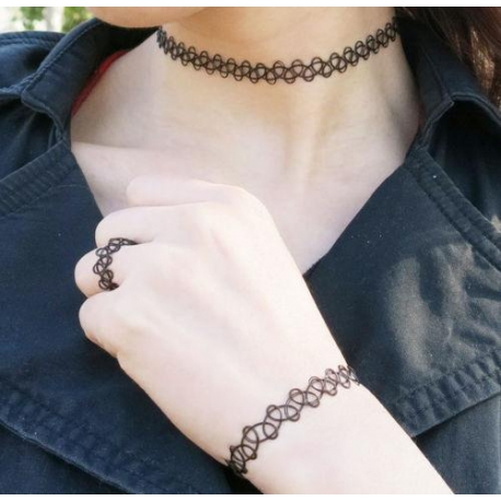 collier tatouage