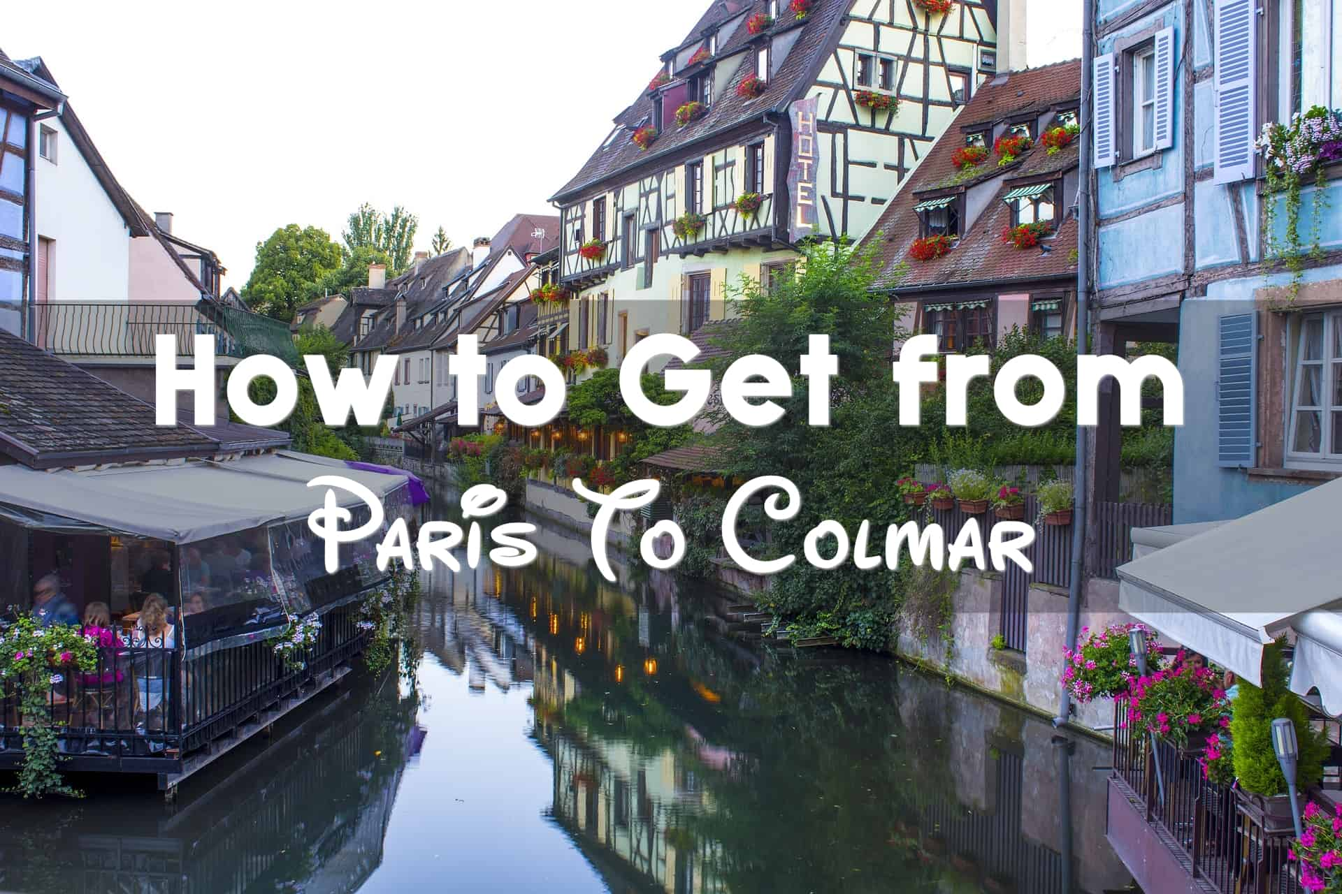 colmar to paris train