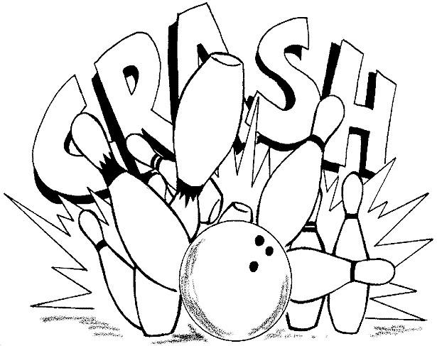 coloriage bowling