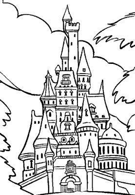 Avis coloriage chateau princesse disney test 2019 - Dessin chateau princesse ...