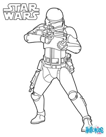 coloriage clone wars