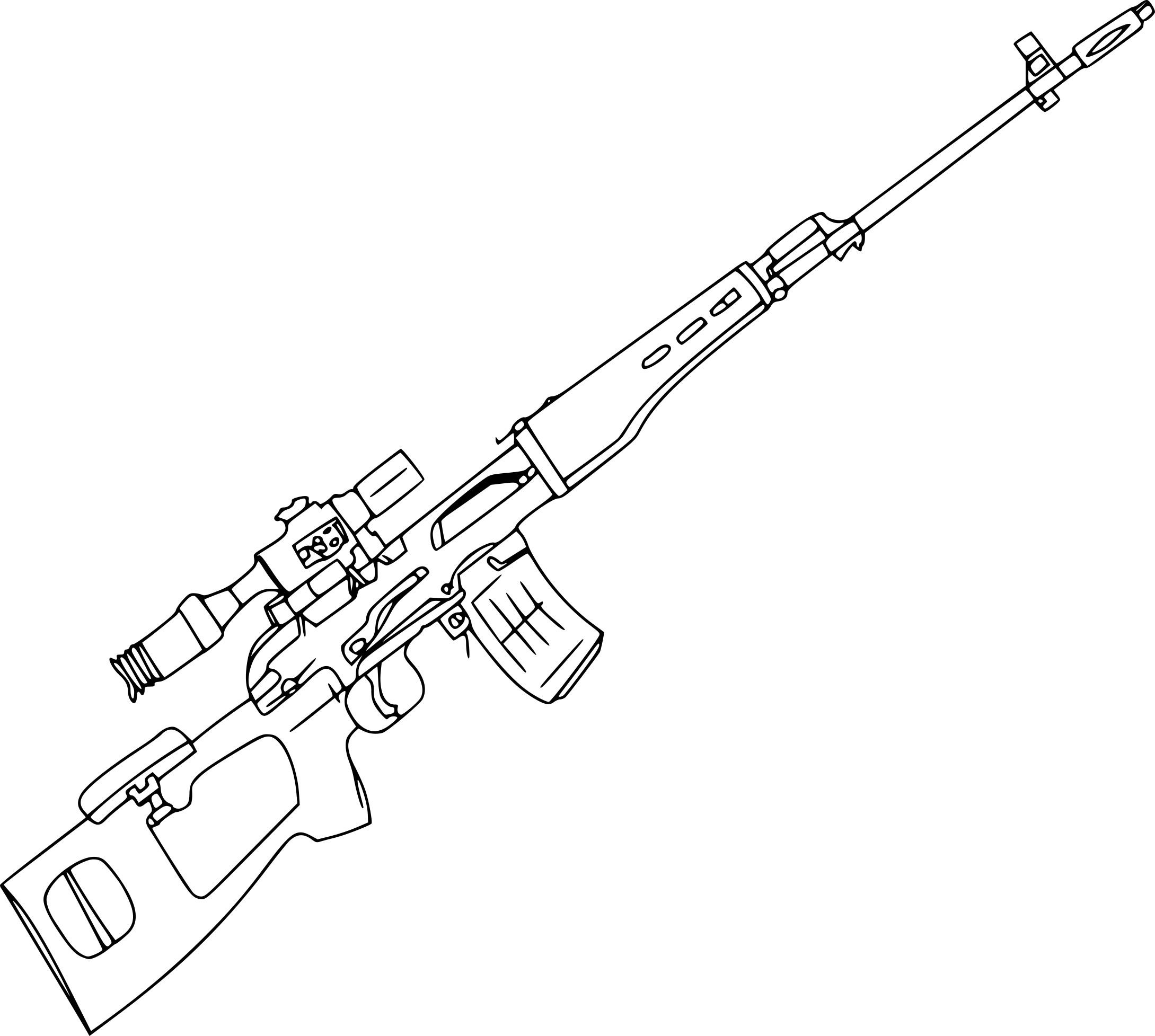coloriage de sniper