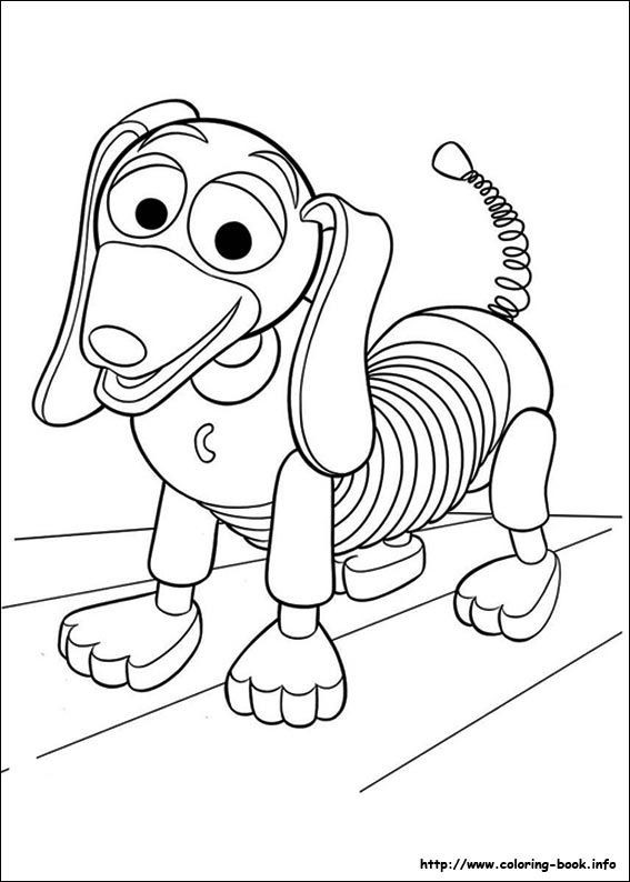coloriage de toy story