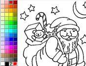 coloriage en ligne de noel