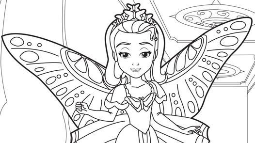coloriage enfant princesse