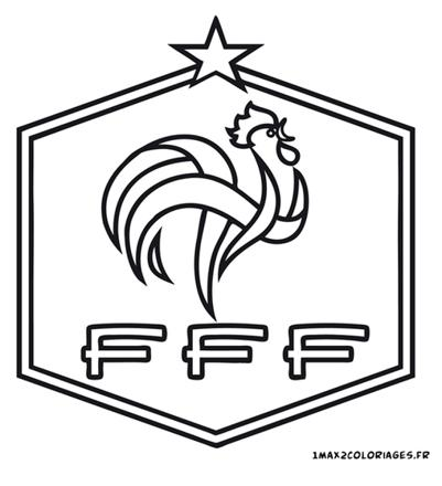 coloriage foot france