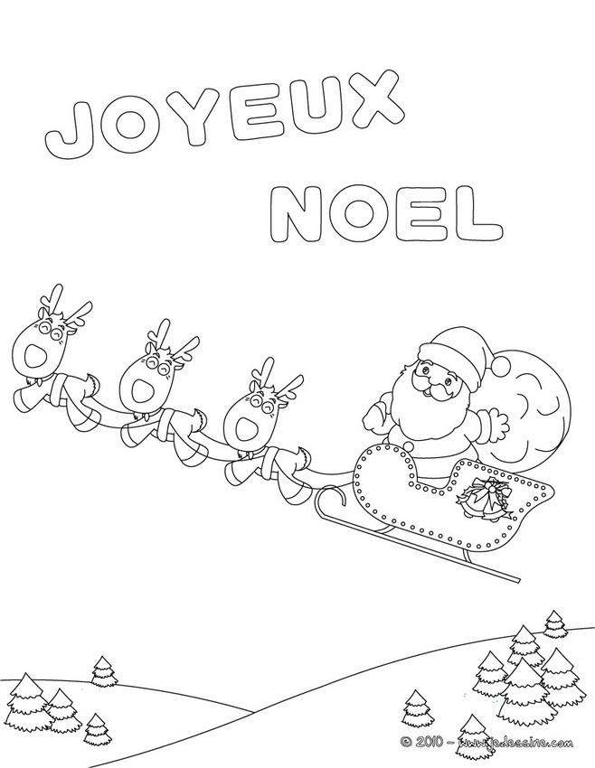 coloriage joyeux noel