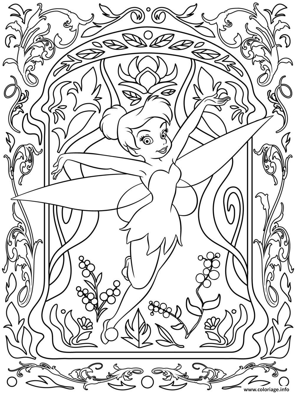 coloriage mandala disney