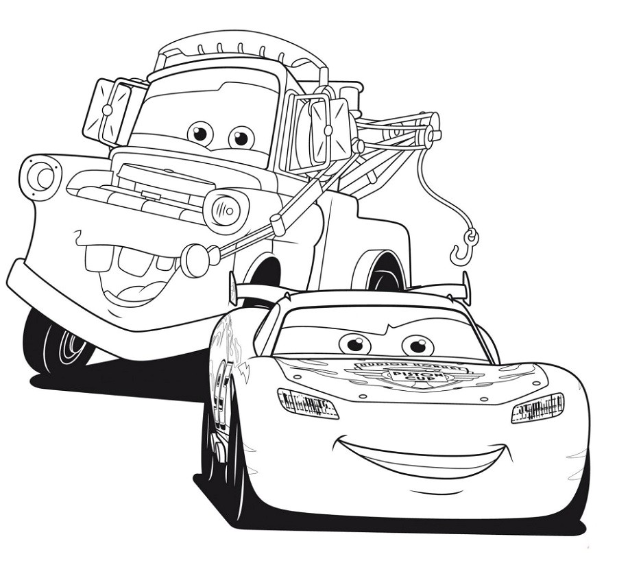 coloriage martin cars