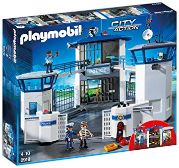 commissariat de police playmobil