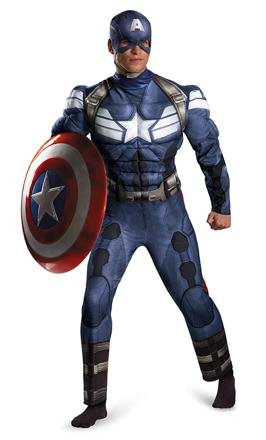 costume de captain america