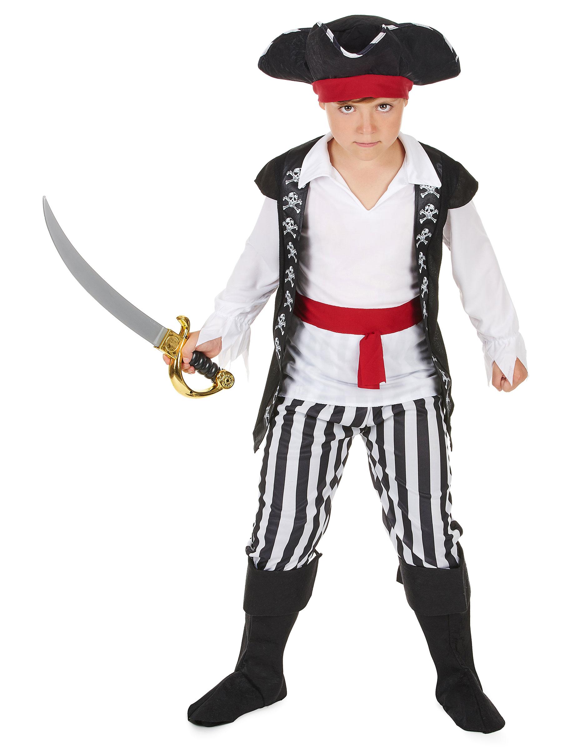 costume de pirate garçon