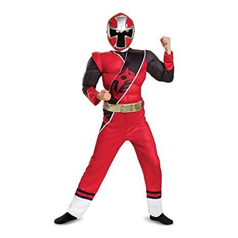 costume power rangers rouge