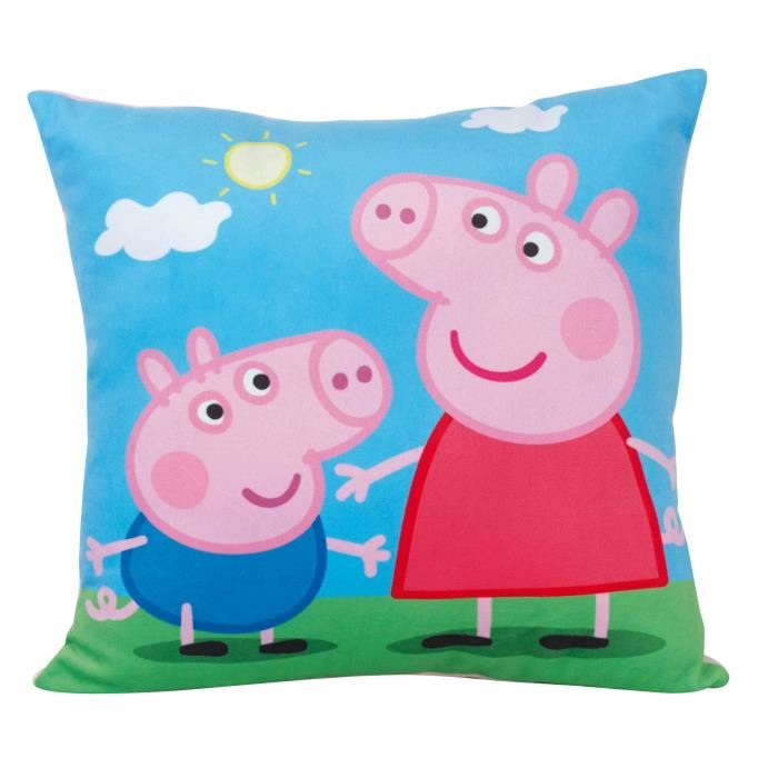 coussin peppa pig