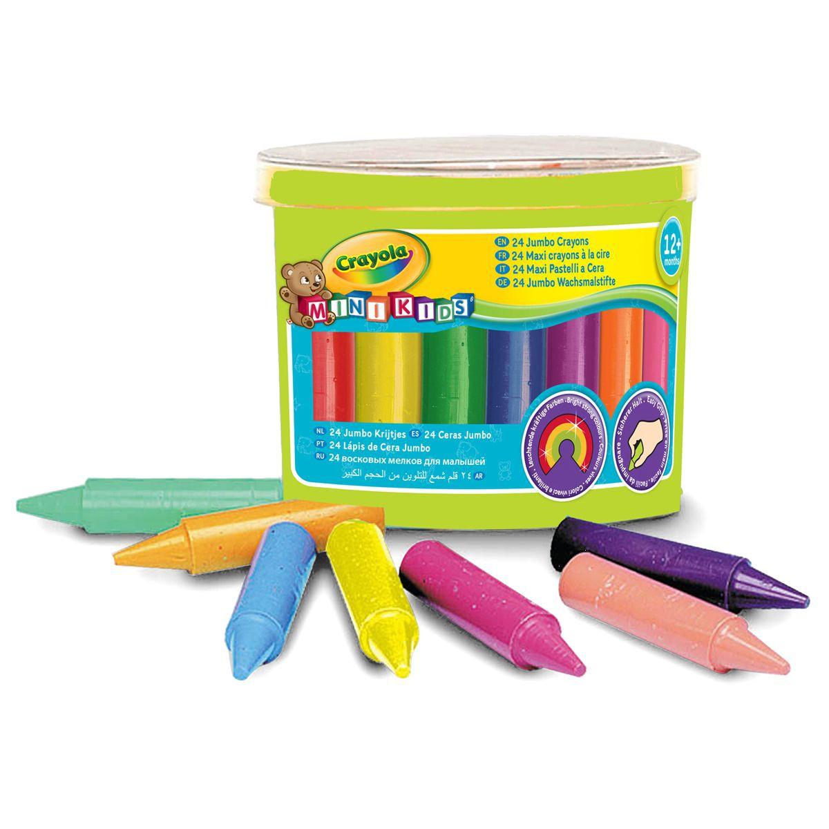 crayon cire bébé