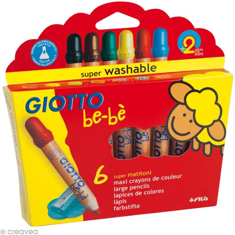 crayon de couleur bébé