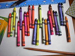 crayon gras crayola