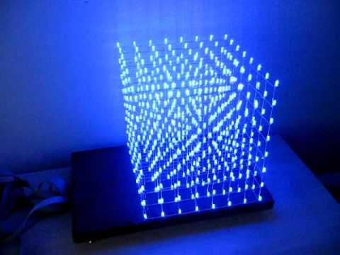 cube a led