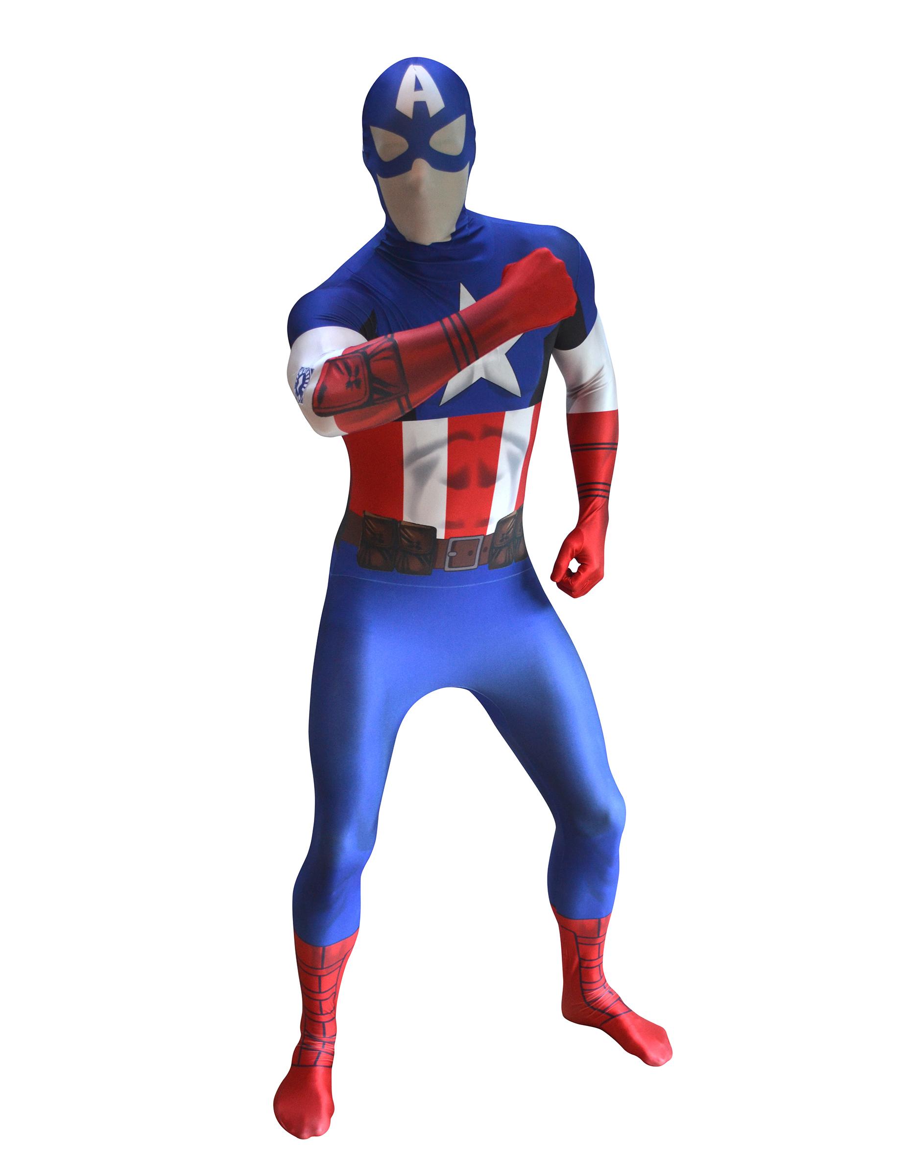 deguisement captain america adulte