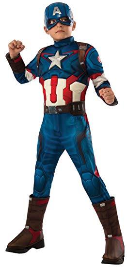 deguisement captain america enfant