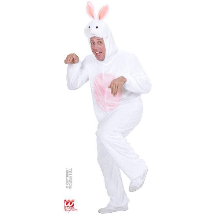 déguisement de lapin adulte