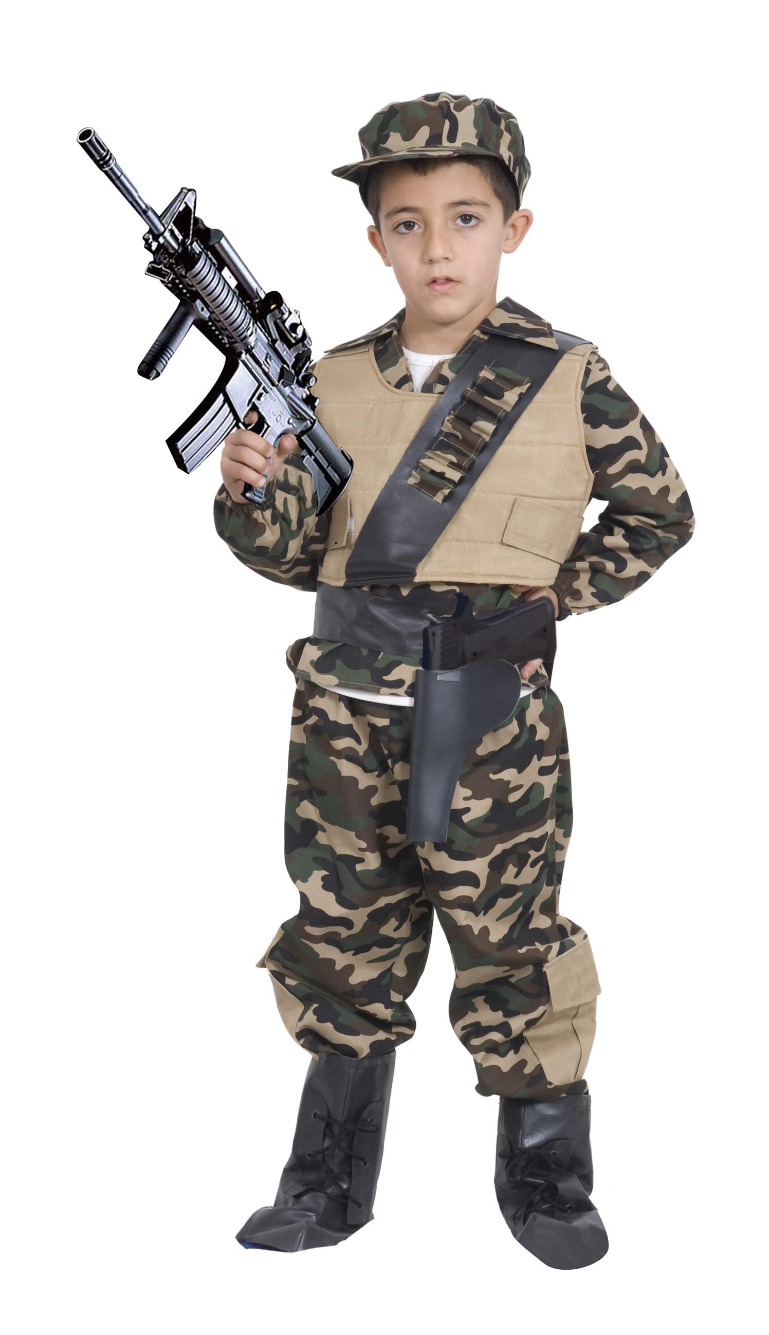 déguisement de militaire