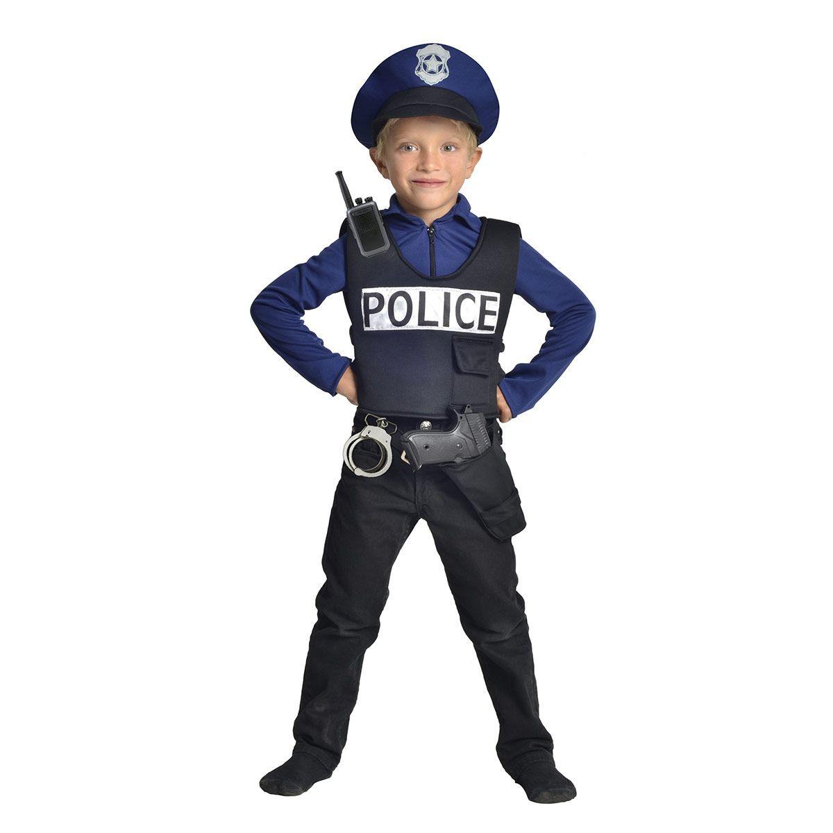 déguisement de policier garcon