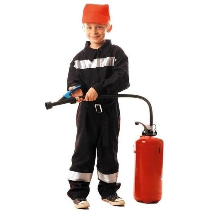 deguisement de pompier 4 ans
