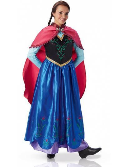 deguisement la reine des neiges anna
