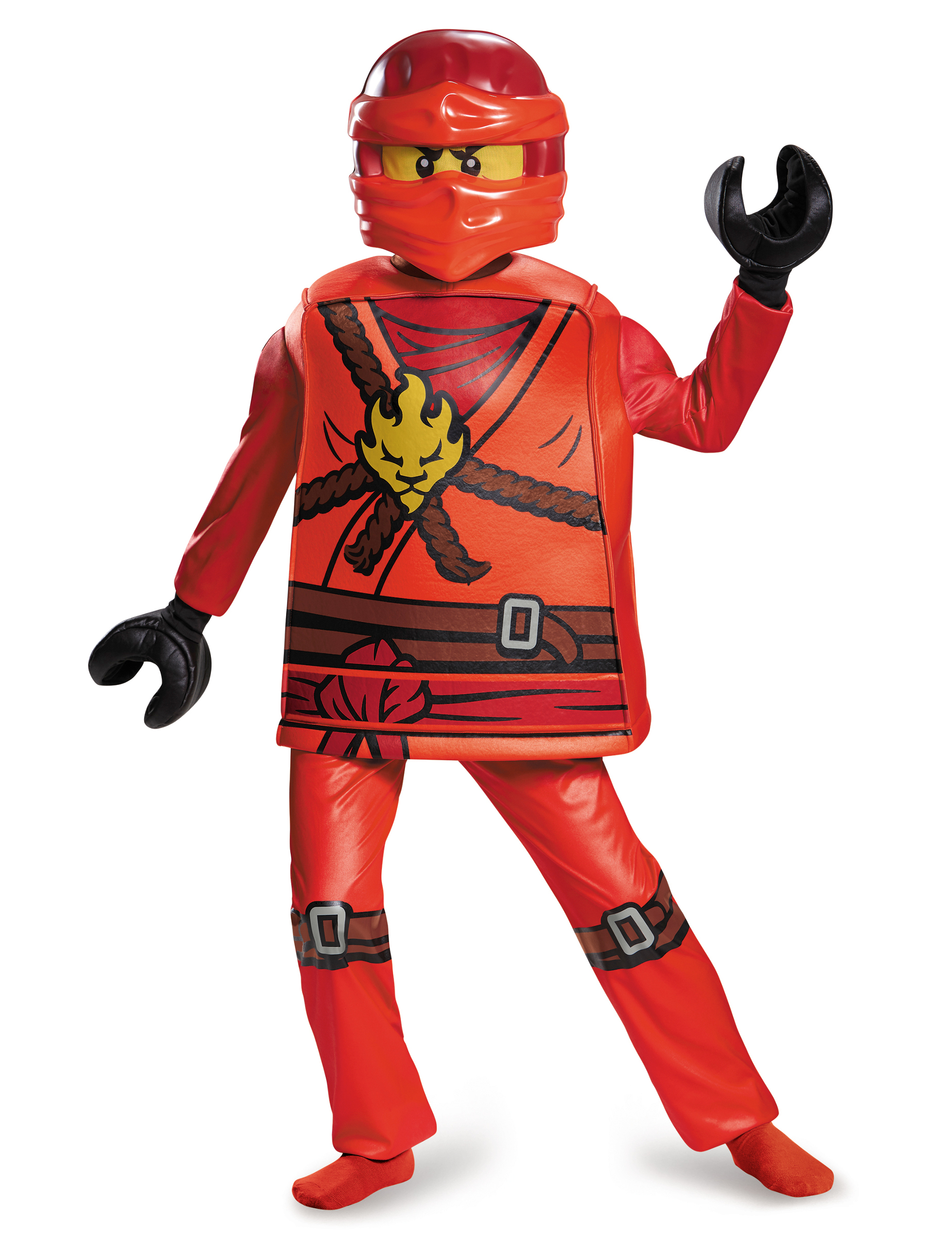 deguisement ninjago rouge