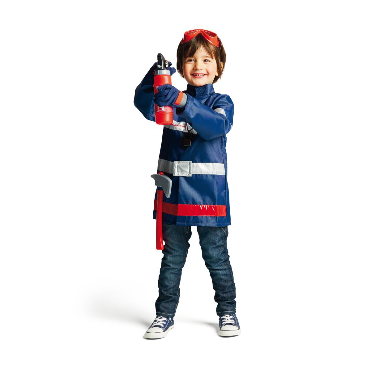 deguisement pompier 2 ans