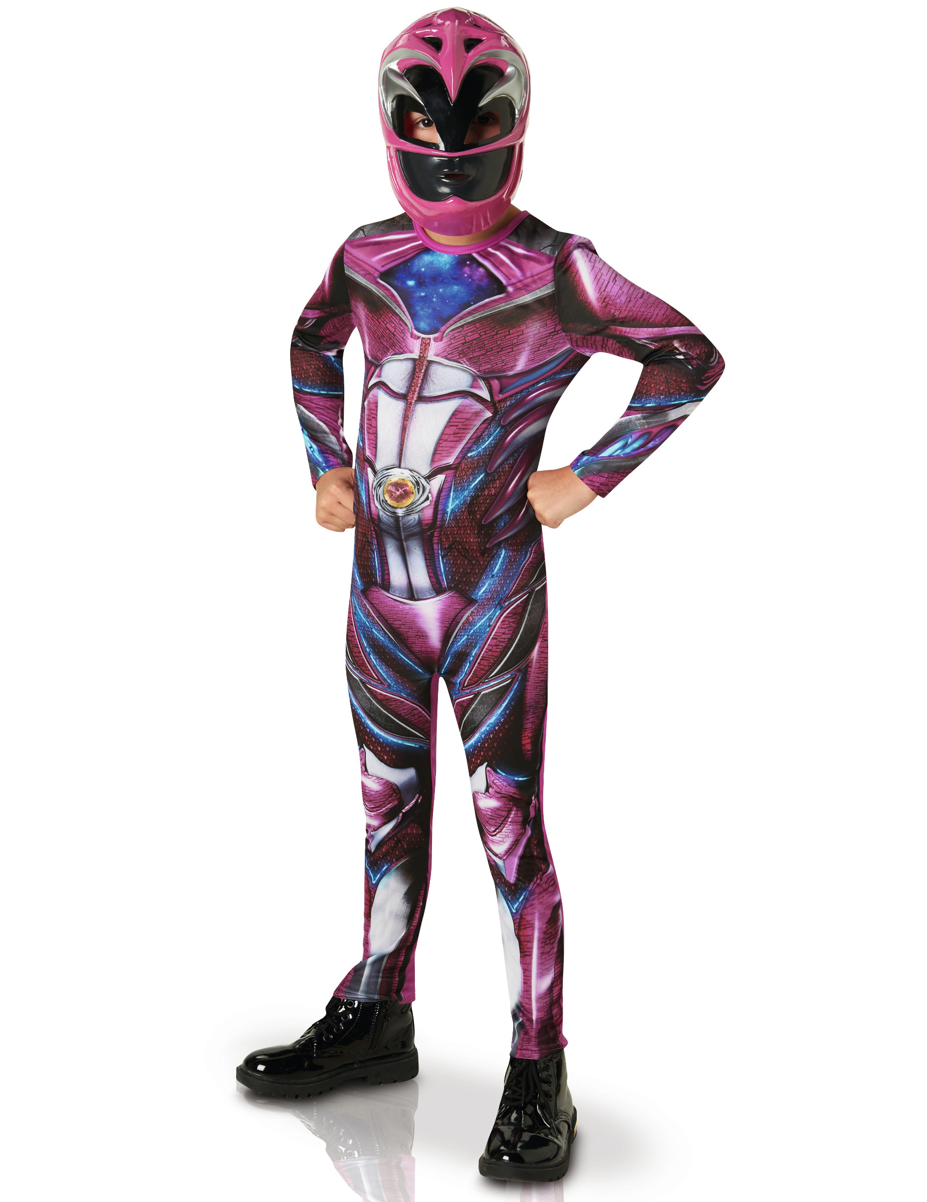 deguisement power ranger rose
