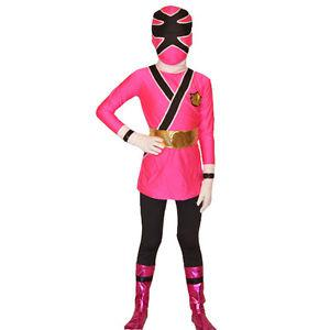 deguisement power ranger samurai rose