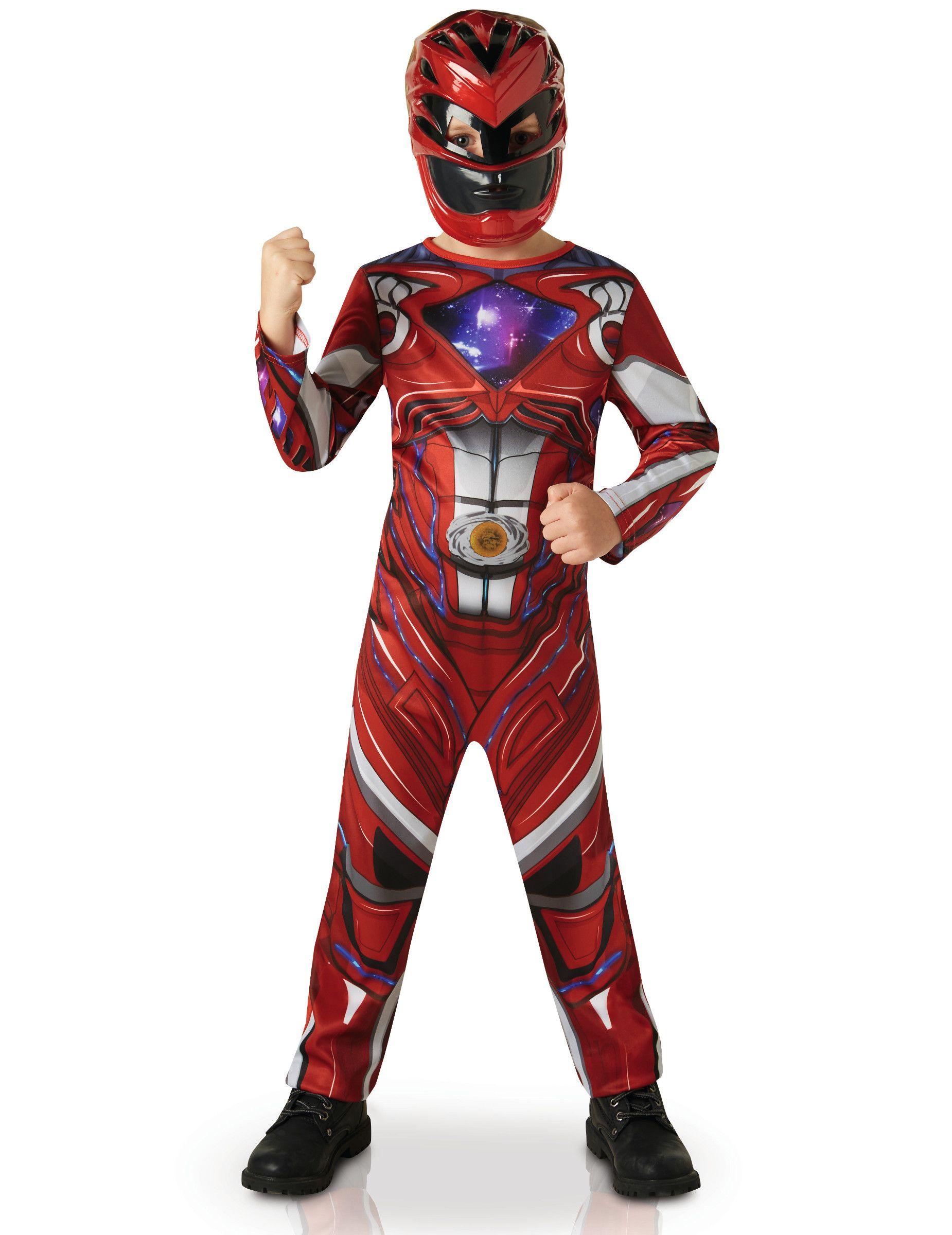 deguisement power rangers rouge