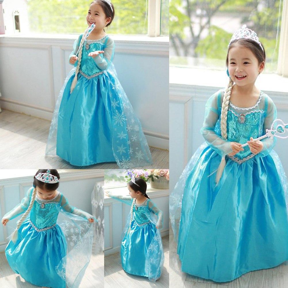 deguisement robe reine des neiges