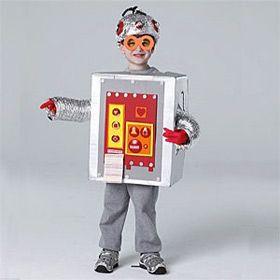 deguisement robot enfant