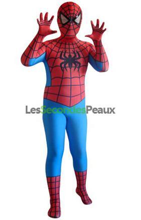 déguisement spiderman 6 ans