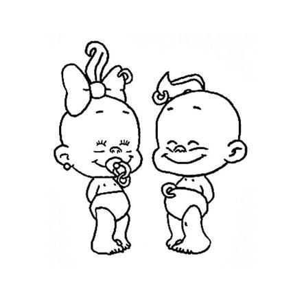 dessin bébé fille