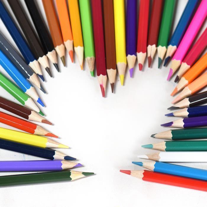dessin crayon couleur