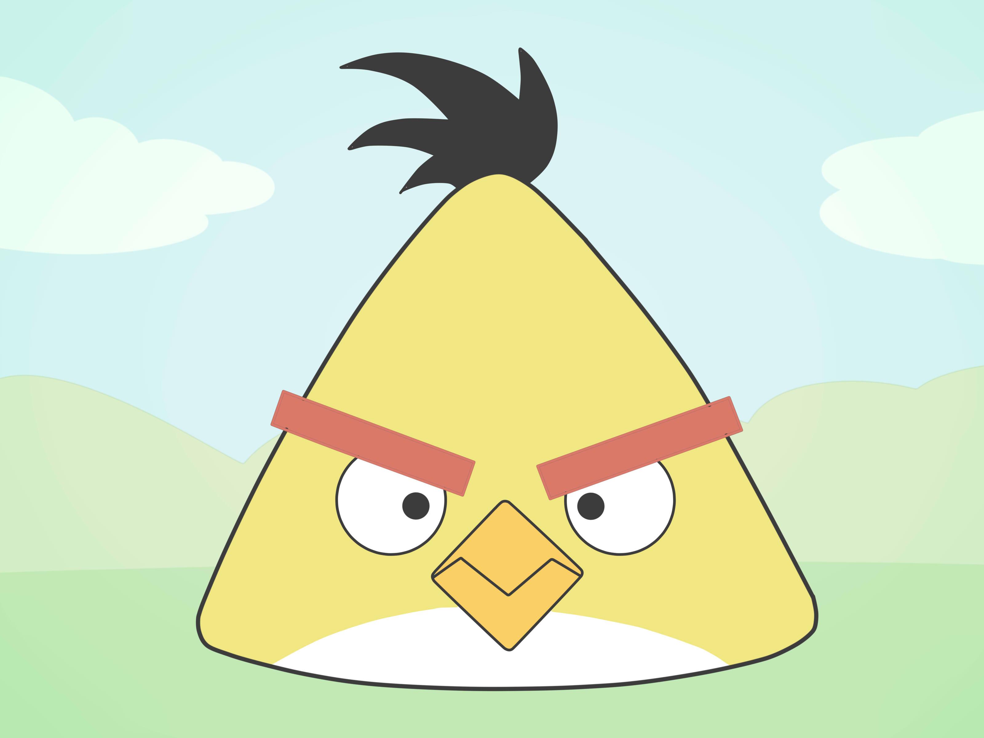 dessin de angry birds