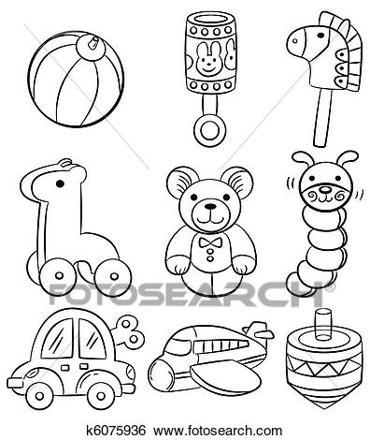 dessin de jouet