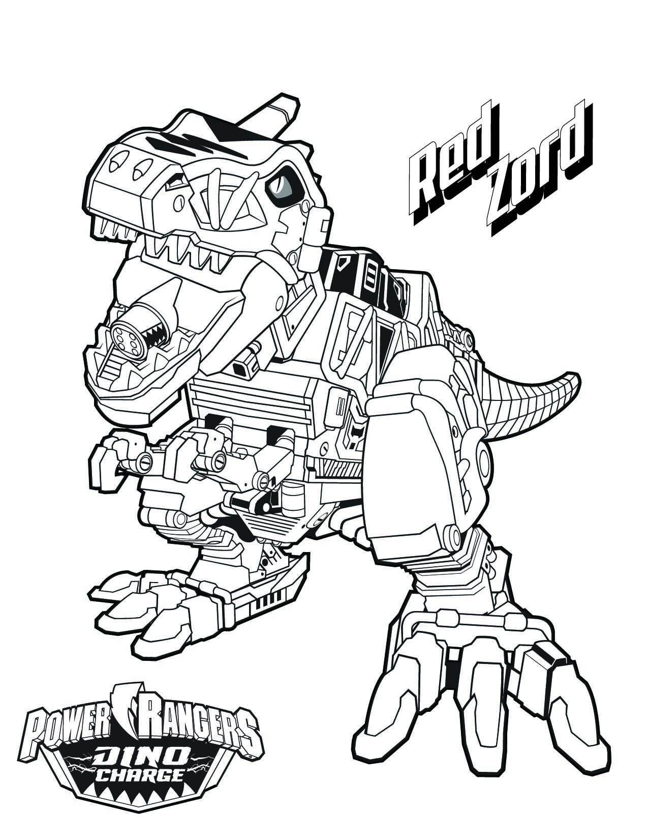dessin de power rangers