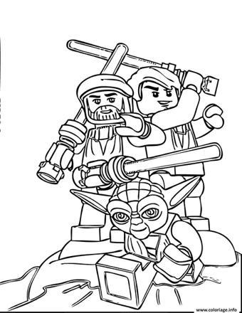 dessin de star wars lego