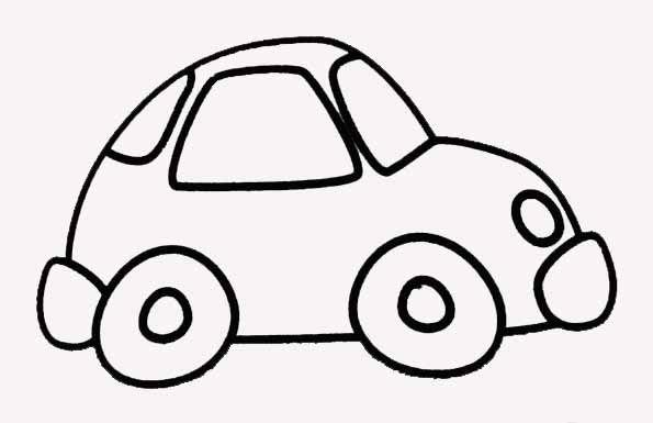 dessin enfant voiture