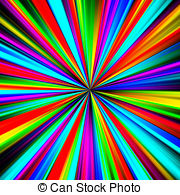 dessin multicolore