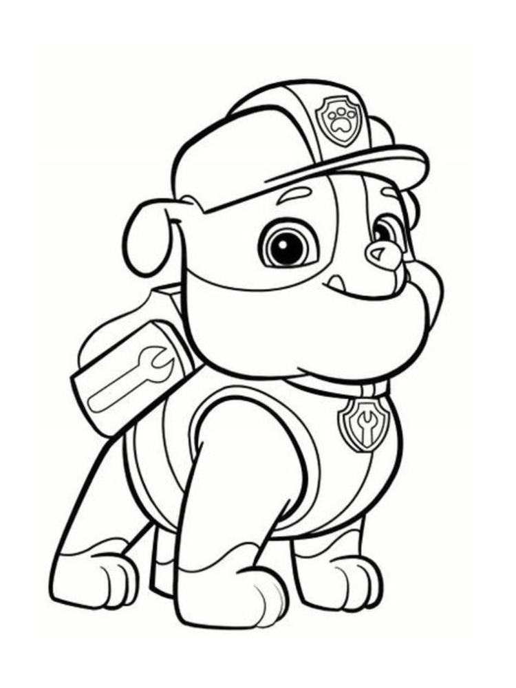 dessin pat patrouille